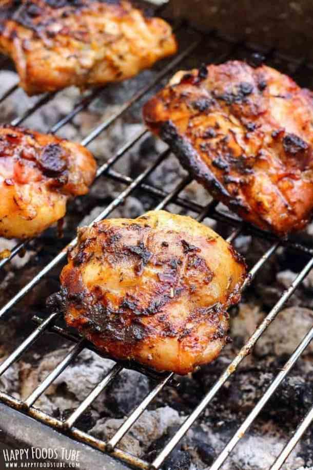Honey Lemon Grilled Chicken