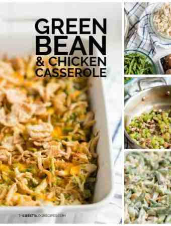 How to Make Green Bean and Chicken Casserole with Cheese