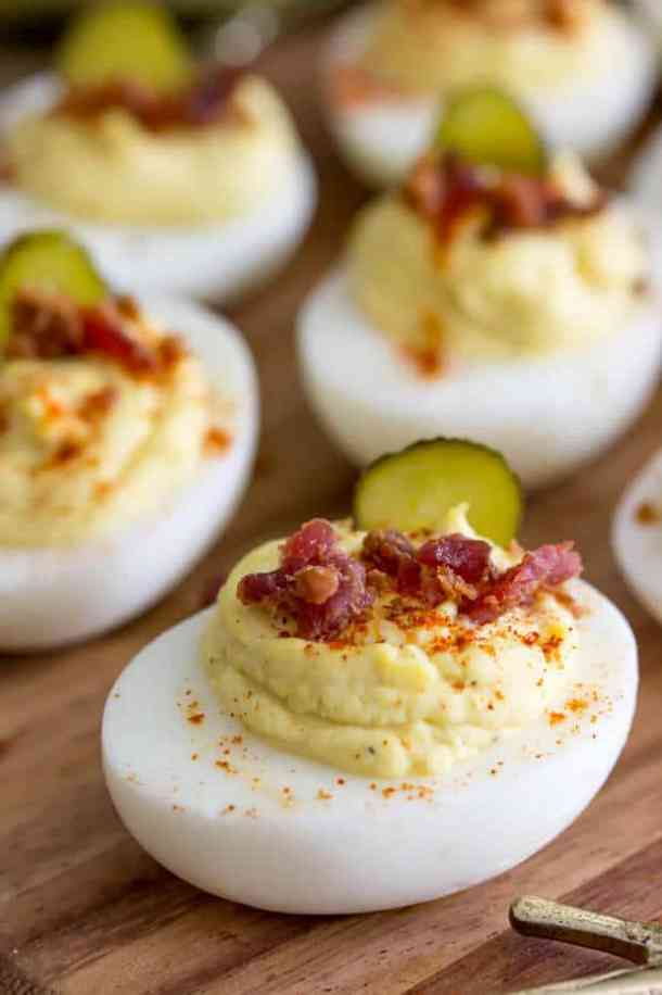 Million Dollar Deviled Eggs -- Part of our MILLION DOLLAR RECIPES THAT WE'RE OBSESSED WITH!