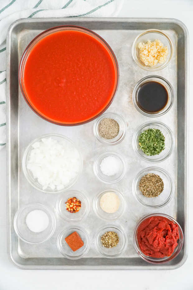 Easy Homemade Spaghetti Sauce Recipe