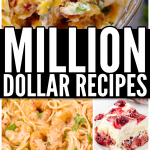 Million Dollar Recipes Long Collage