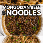 Mongolian Beef and Noodle Recipe