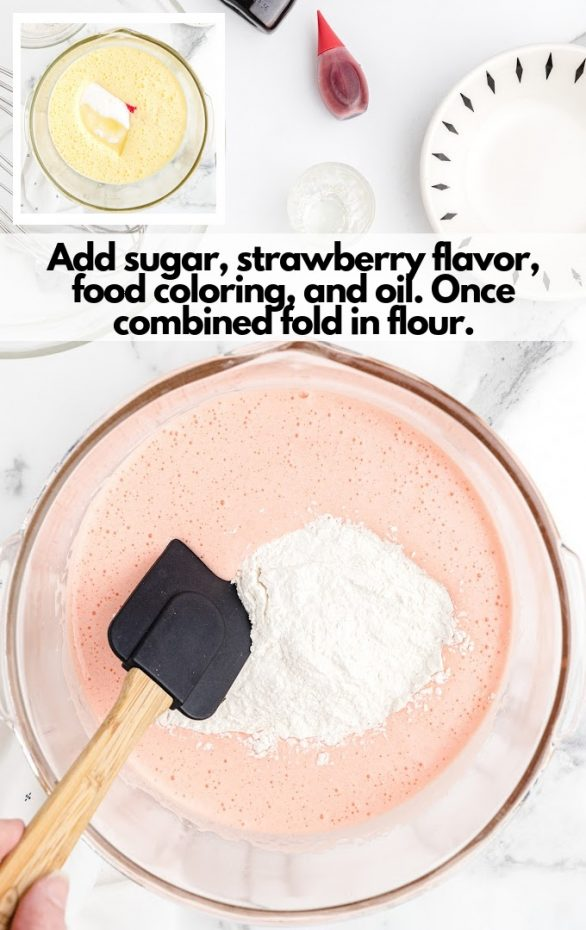 cake batter ingredients