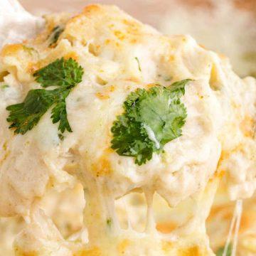 Whiten Chicken Enchiladas Skillet