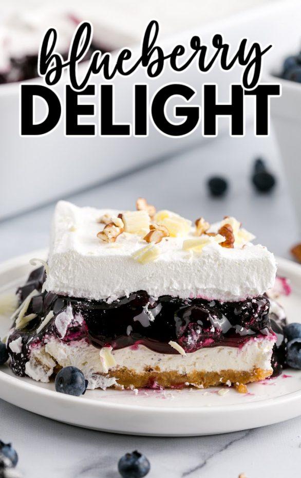 Blueberry Delight Dessert Recipe