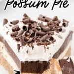 Arkansas Possum Pie