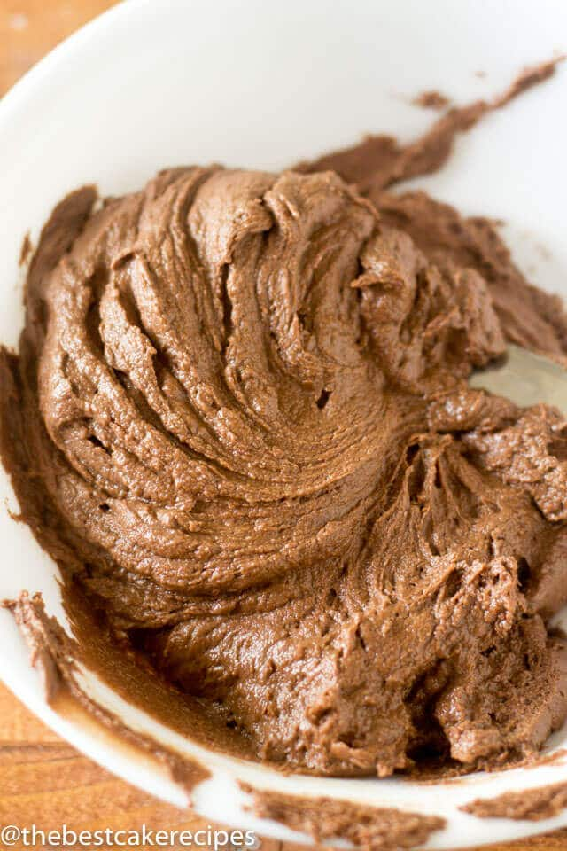 What's better than chocolate frosting? Dark Chocolate Buttercream Frosting with real dark chocolate whipped into every bite.