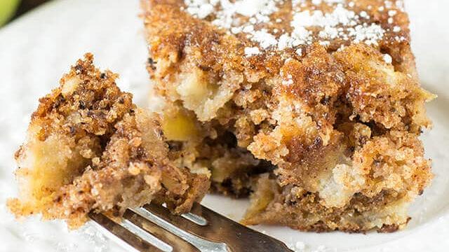 Easy Apple Cake Recipe Fresh Apples