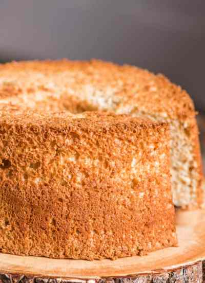 Homemade Amish brown sugar angel food cake in under 1 hour