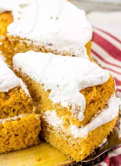 two layer pumpkin angel food cake recipe