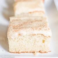 eggnog cream cake recipe