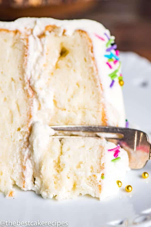 Gluten Free Vanilla Cake {Easy From Scratch Grain Free Cake Recipe}