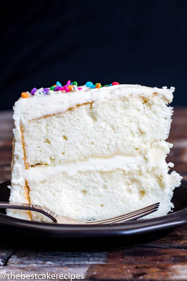 Vanilla Cake Recipe From Scratch Homemade Cake With Whipped Eggs