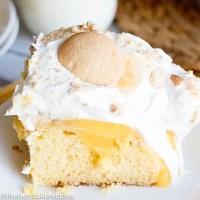 banana pudding cake recipe