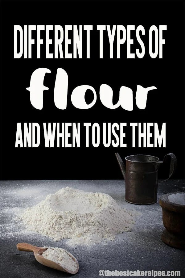 different types of flour and when to use them title image