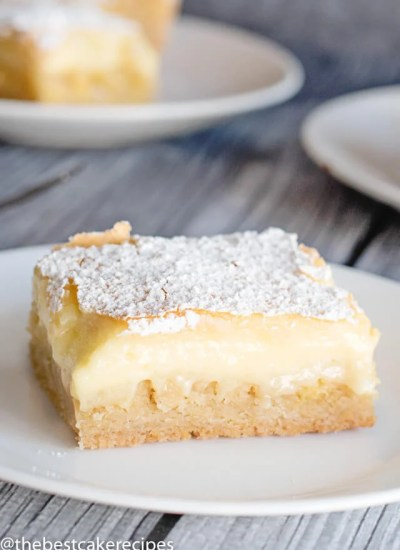 homemade ooey gooey butter cake recipe
