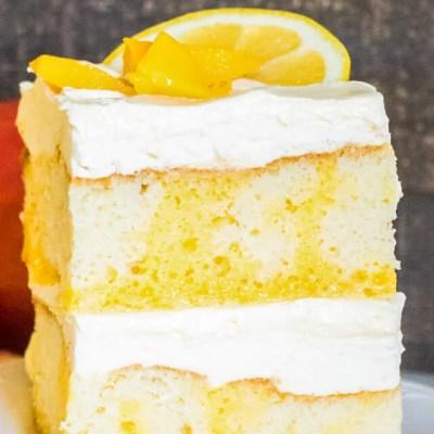 Tropical Poke Cake