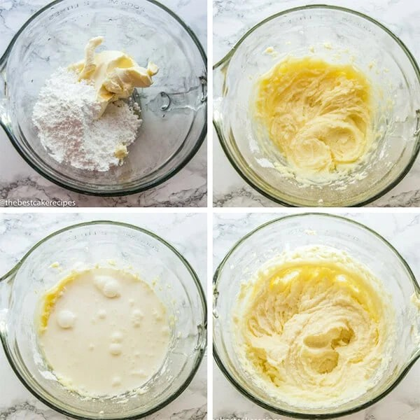 how to make mascarpone cream frosting collage