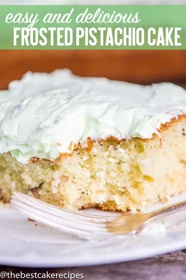 pistachio cake title image