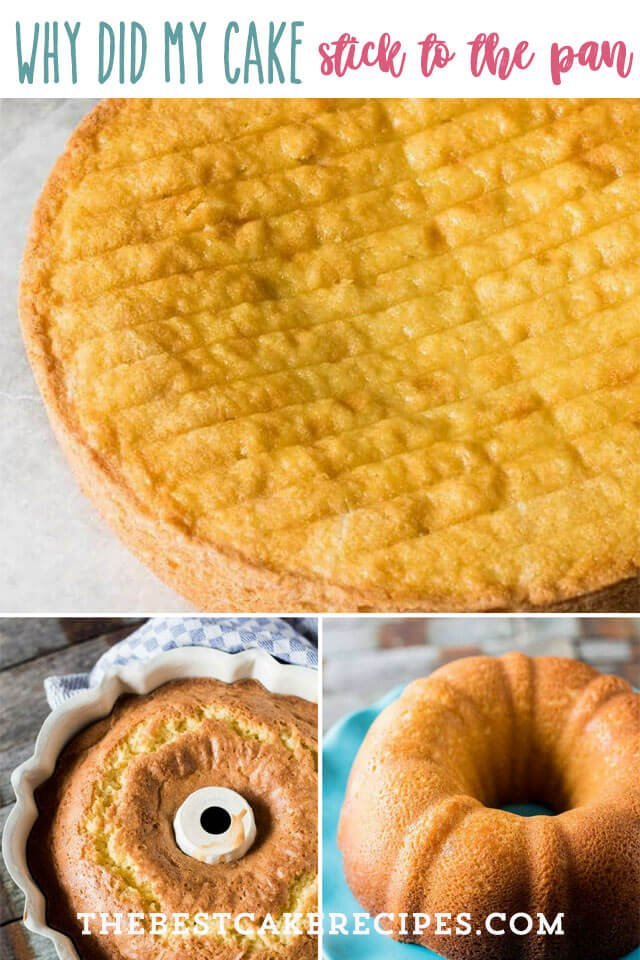 collage of yellow cakes