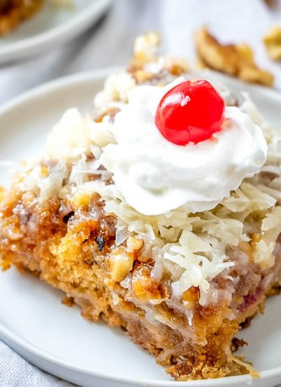 fruit coconut cake recipe