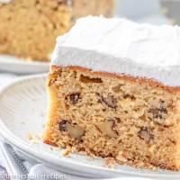 homemade spice cake recipe