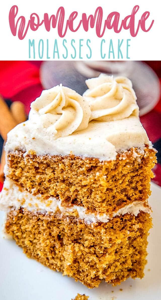 molasses spice cake title image