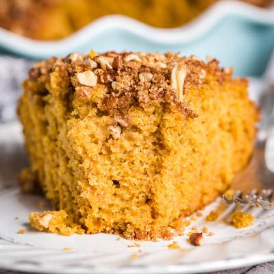 Pumpkin Sourdough Coffee Cake