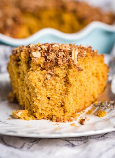 Sourdough Pumpkin Coffee Cake Recipe