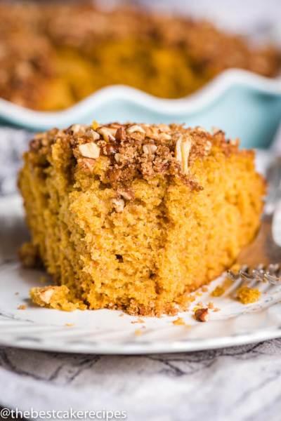 Sourdough Pumpkin Coffee Cake Recipe