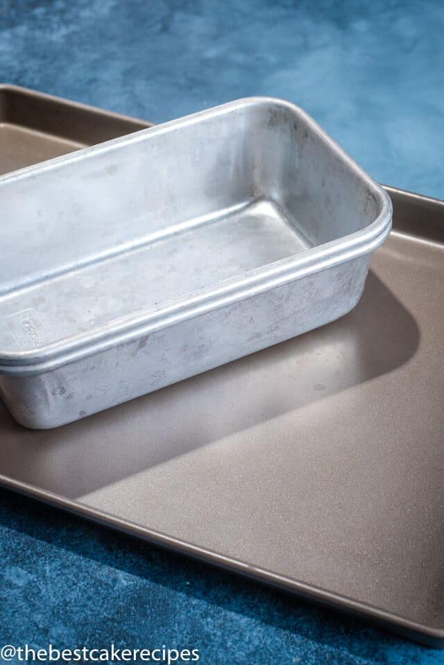 loaf pan and sheet cake pan