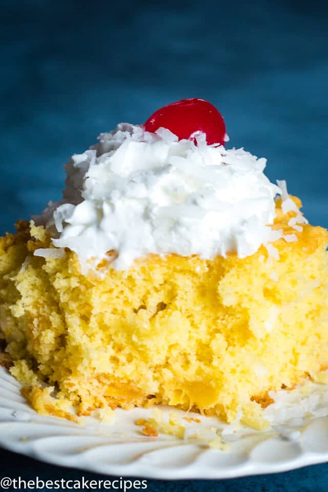 Yellow Cake Coffee Cake Recipe