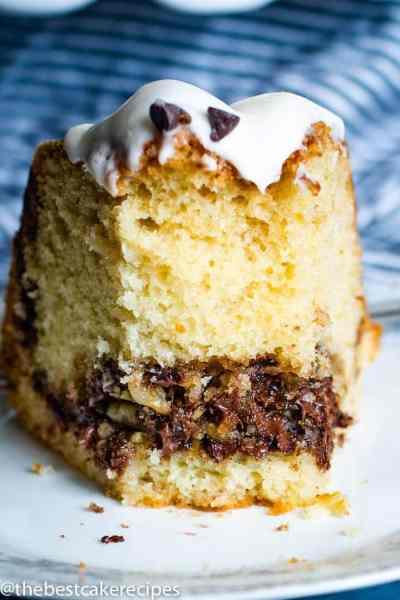 face on Chocolate Chip Bundt Cake Recipe