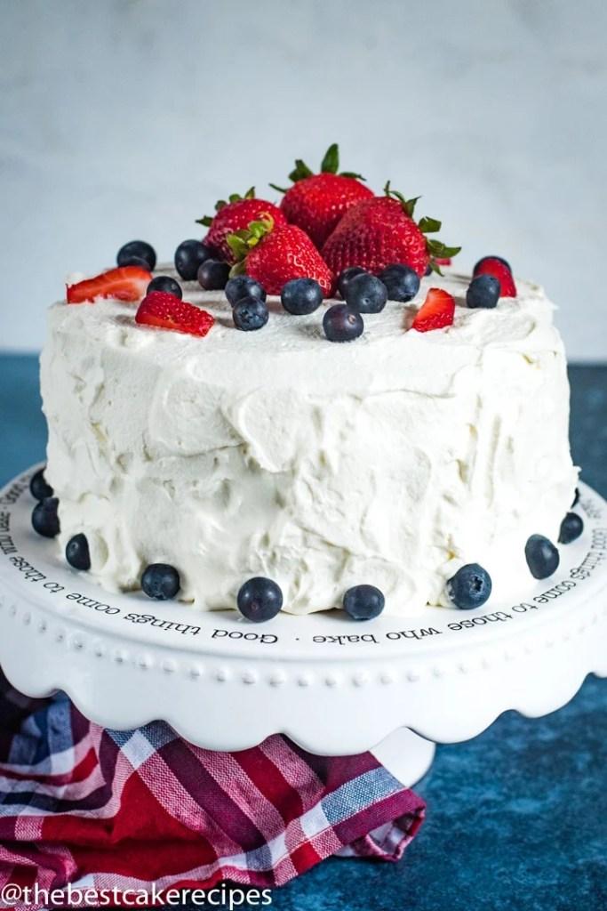 Patriotic Berry Cake hero image