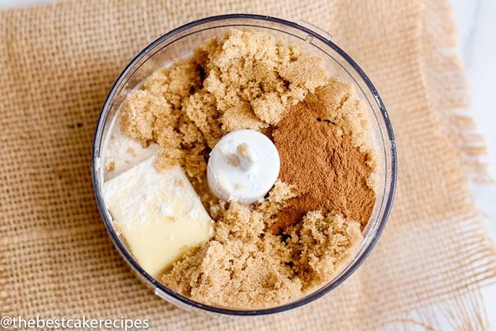 brown sugar streusel batter