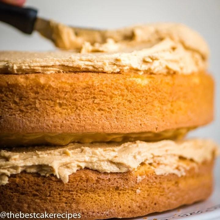 frosting a Nutter Butter Cake