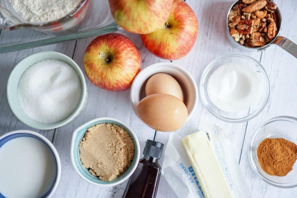Apple Pie Cake ingredients