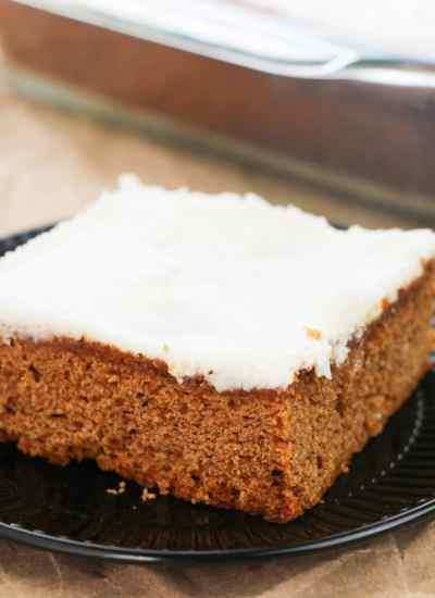 Easy Apple Butter Cake