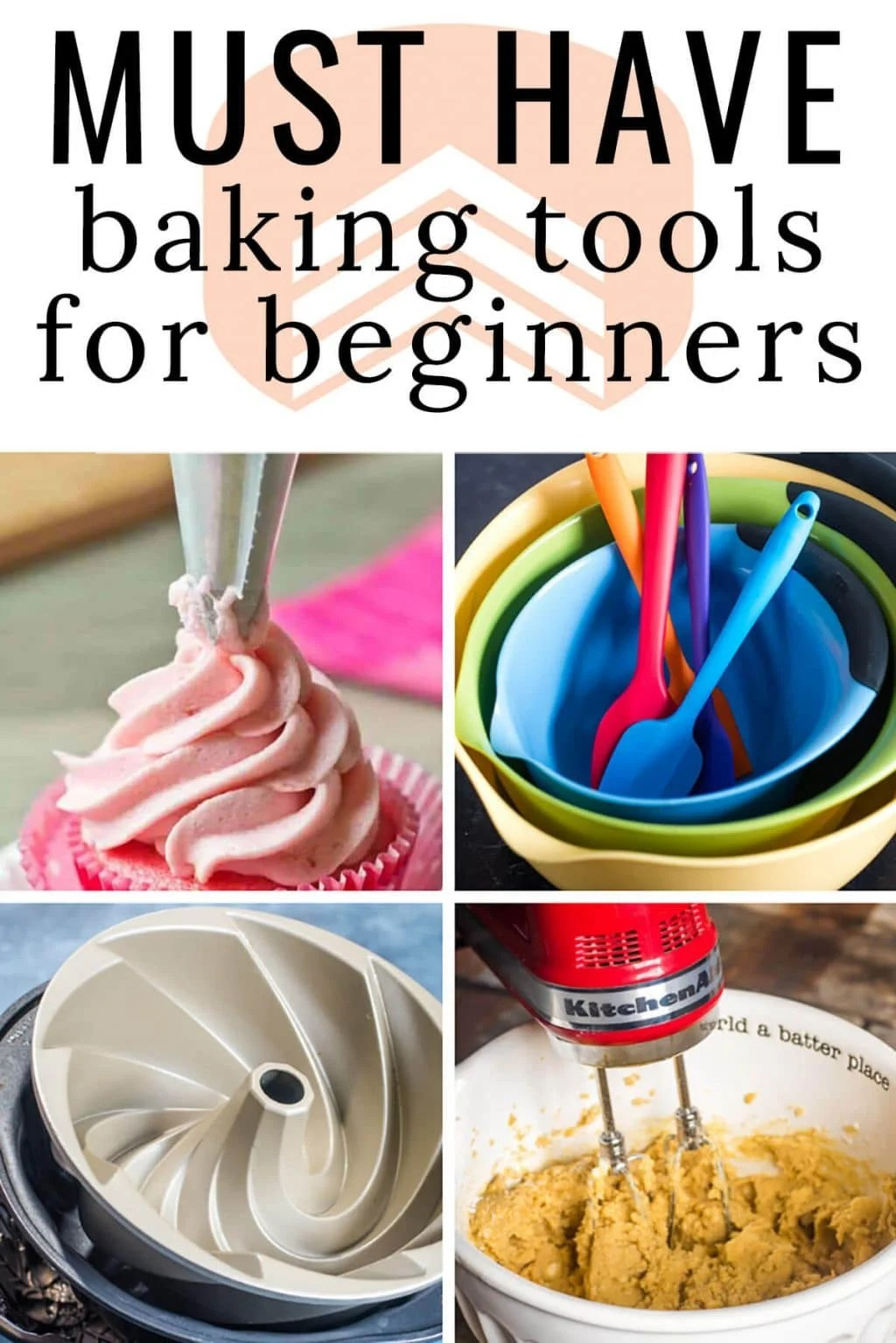Looking for the perfect gift for the person in your life who wants to bake more? Here is a list of all of the essential gifts for beginning bakers to get them started! #baking #cake #giftguide #gift via @thebestcakerecipes