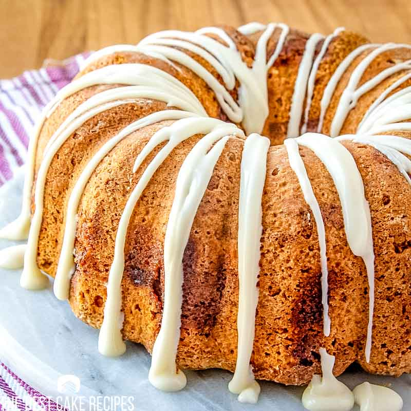 drizzled Jewish Apple Cake