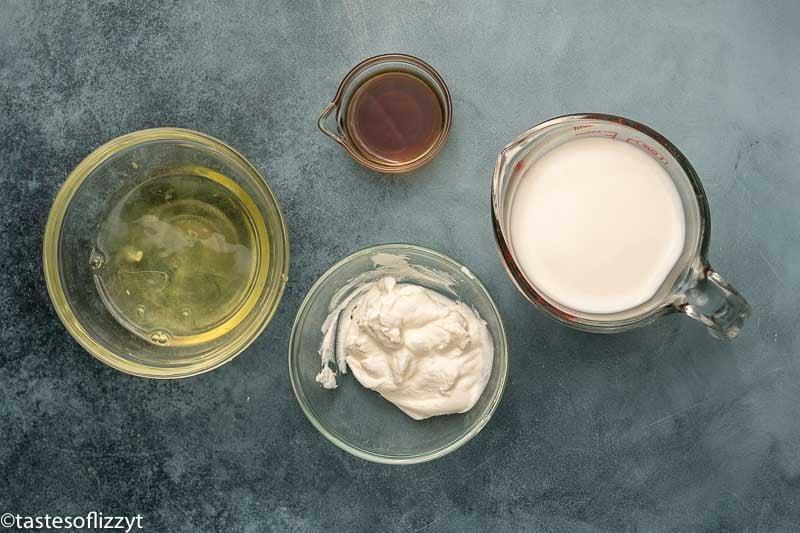 ingredients for homemade cake mix white cake