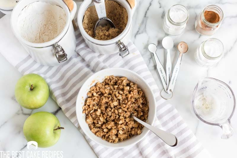 oat streusel for coffee cake