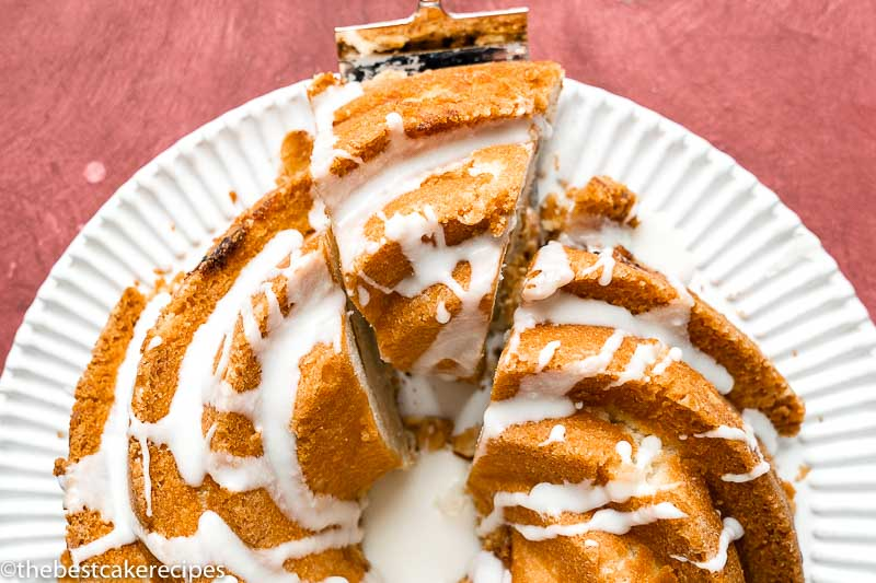 Almond Cherry Coffee Cake