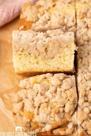slices of ny crumb cake