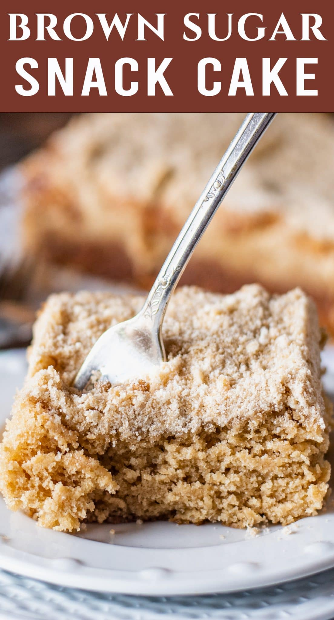 Only 6 ingredients in this easy Brown Sugar Snack Cake with tangy buttermilk flavor. Perfect as a breakfast, brunch or an afternoon snack. via @thebestcakerecipes