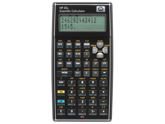 HP 35s Scientific Calculator for students, surveyors, engineers, and medical personnel