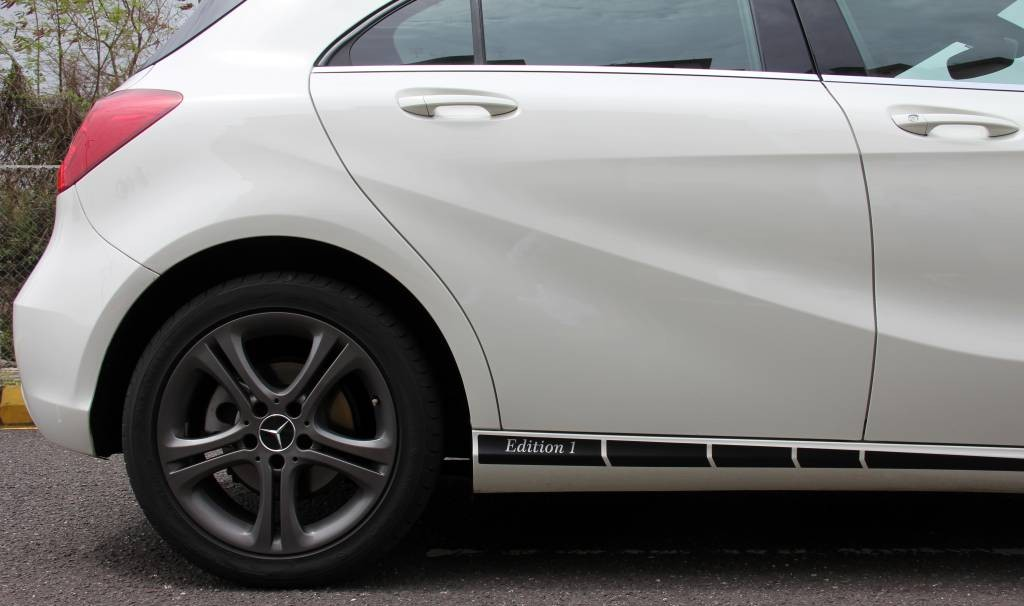Mercedes AClass Edition1 - Side Profile