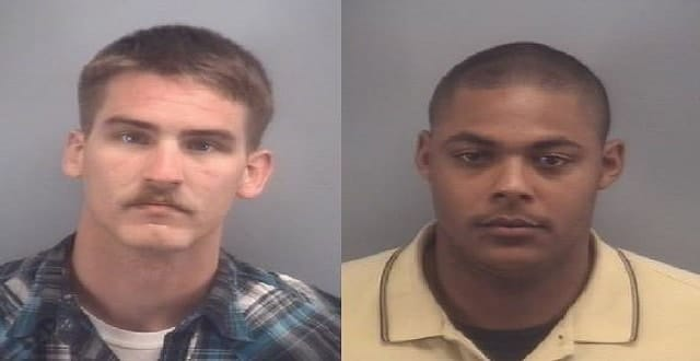 Photos by Virginia Beach Police. Left: Cody C. Gerarden. Right: Justin Page.