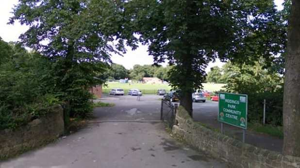 Riddings Park where Leo was found, with four teens now on bail before being sentenced in November for the brutal attack
