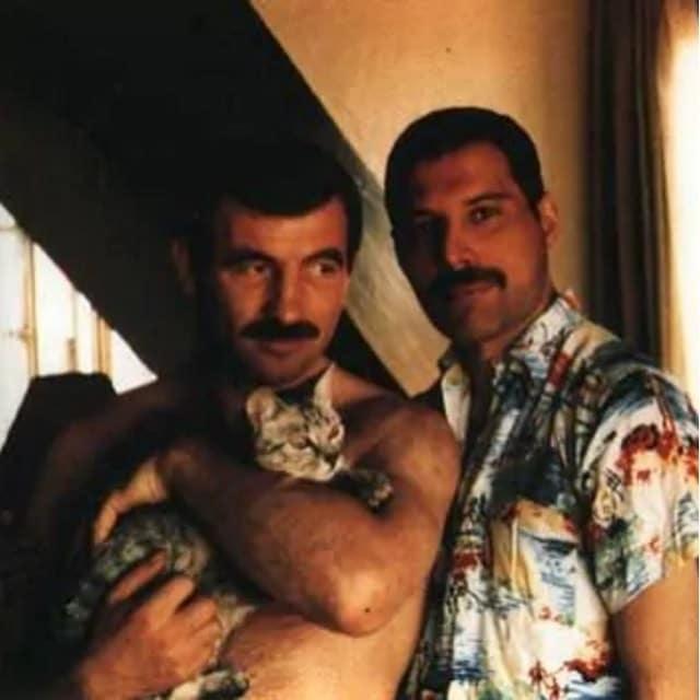 Jim Hutton, Freddie Mercury and Dorothy